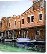 Venice Reflections - Italy Canvas Print