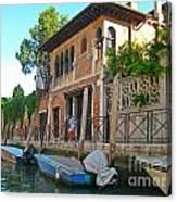 Venice Streetscape Canvas Print