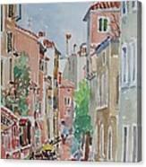 Venice Summer Canvas Print