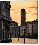 Venice Sunrise  Canvas Print