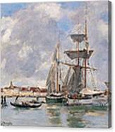 Venice. The Grand Canal Canvas Print