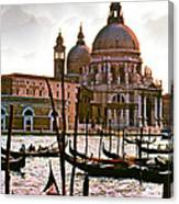 Venice The Grand Canal Canvas Print