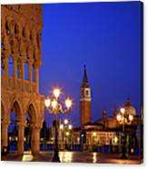 Venice Twilight Canvas Print
