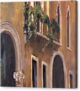 Venice Windows Canvas Print