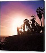 Ventura Beach Sunset Canvas Print