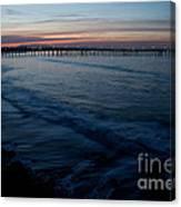 Ventura Pier Sunrise Canvas Print