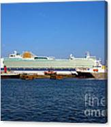 Ventura Sheildhall Calshot Spit And A Tug Canvas Print