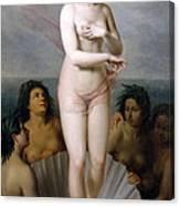 Venus Anadyomene Canvas Print