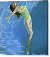 Venus Goes H2o  Canvas Print