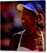 Venus Williams Canvas Print
