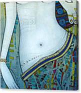 Venus With Doves Canvas Print