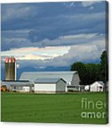 Verdant Farmland Canvas Print