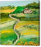 Verde Sentiero Canvas Print