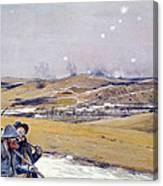 Verdun, 1916 Oil On Canvas Canvas Print