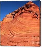 Vermilion Mounds Canvas Print