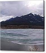 Vermillion Lakes, Banff National Park - Panorama Canvas Print
