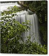 Vermillion River Falls 2 A Canvas Print