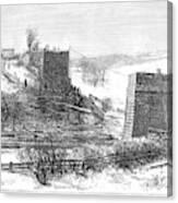 Vermont Bridge Collapse Canvas Print