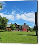 Vermont Country Home Canvas Print