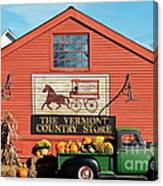 Vermont Country Store Canvas Print