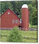 Vermont Farm Canvas Print