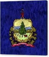 Vermont Flag Canvas Print