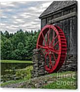 Vermont Grist Mill Canvas Print