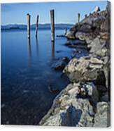 Vermont Lake Champlain Sunrise Burlington Canvas Print