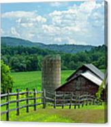 Vermont Welcome Canvas Print