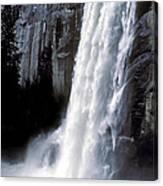 Vernal Falls Profile Canvas Print