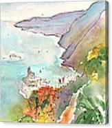 Vernazza In Italy 06 Canvas Print