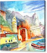 Vernazza In Italy 07 Canvas Print
