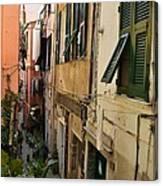 Vernazza Street Canvas Print