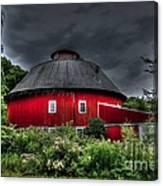 Vernon County Round Barn Canvas Print