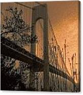 Verrazano Sundown Canvas Print