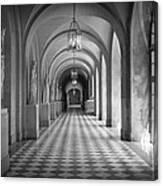 Versailles Hallway Canvas Print