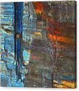 Vertical Dominance In Horizontal Sea Canvas Print