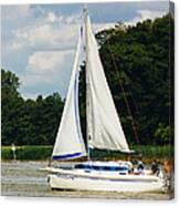 Vertical Sailboat Canvas Print