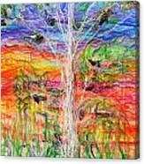 Vertical Space Canvas Print