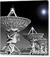 Very Large Array Canvas Print