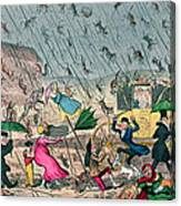 Very Unpleasant Weather Canvas Print