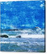 Vesterhavet The North Sea Canvas Print