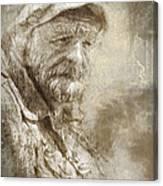 Veteran Canvas Print