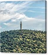 Veterans War Memorial Tower Canvas Print