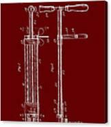 Veterinary Molar Extraction Patent 1911 Canvas Print