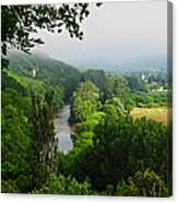 Vezere River Valley Canvas Print