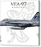 Vfa-97 2014 Canvas Print