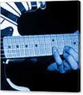 Vh #20 In Blue Canvas Print