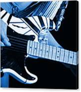 Vh #3 In Blue Canvas Print