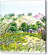 Viano Winery Martinez California Canvas Print